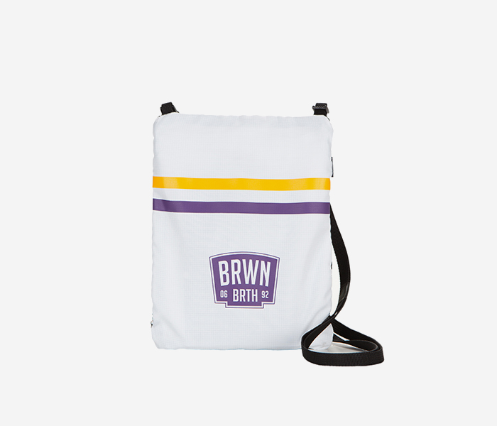 BB SECTOR M.CROSS BAG - WHITE brownbreath
