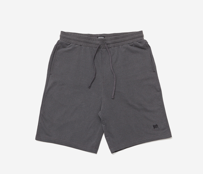 TAGGING PIGMENT DYE SHORTS - GREY brownbreath