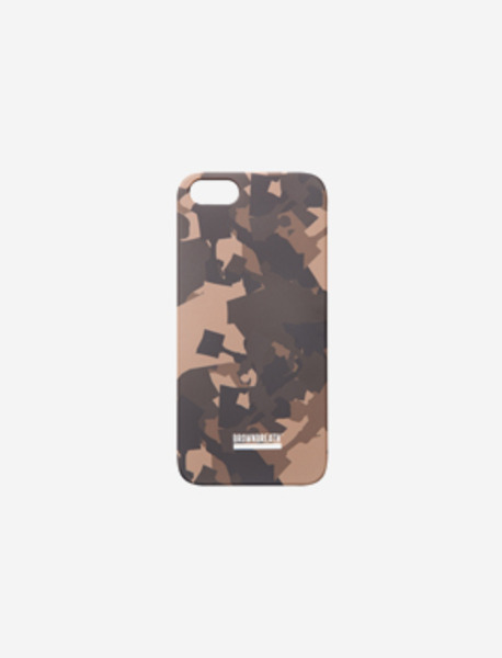 PHONE CASE NEWSBOY CAMO - KHAKI brownbreath
