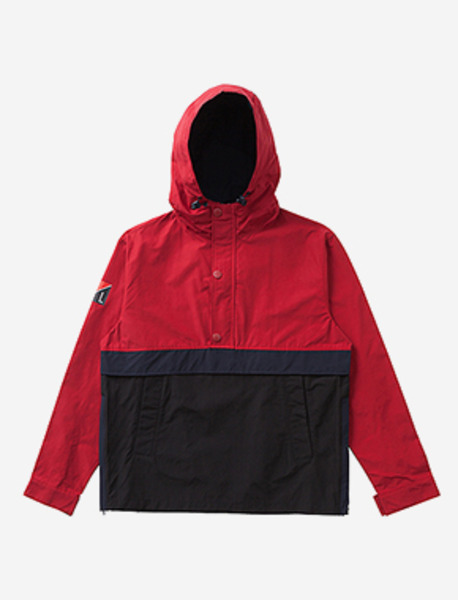 SPREAD 90s PULL-OVER JKT - RED brownbreath