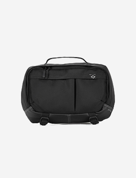 N395 GRAVITY WAISTBAG - BLACK brownbreath