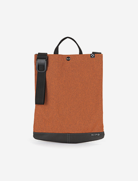 N540 DELIVER N BAG - 2TONE ORANGE brownbreath
