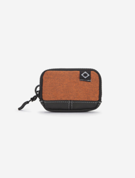 N220 CARDCASE - 2TONE ORANGE brownbreath