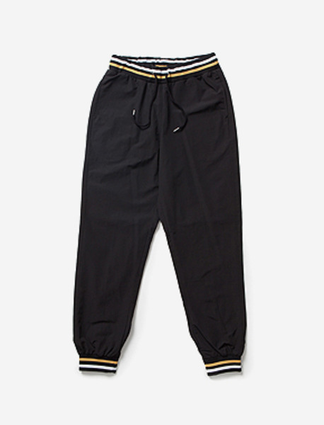 B NYLON JOGGER PANTS brownbreath