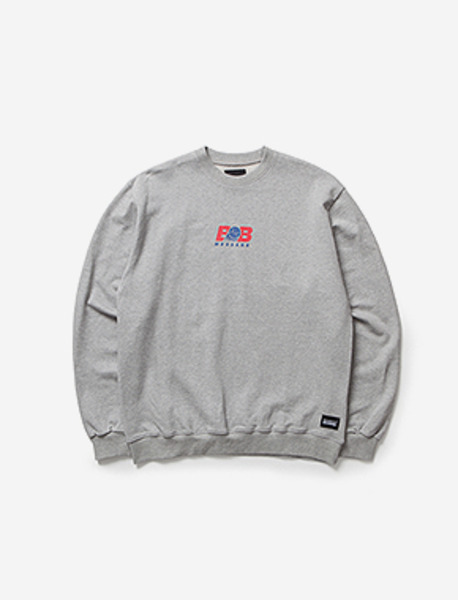 BB MESSAGE CREWNECK brownbreath