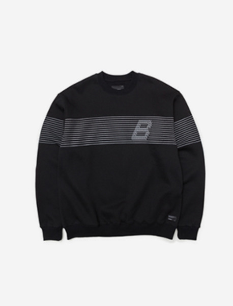 CUE CREWNECK - BLACK brownbreath