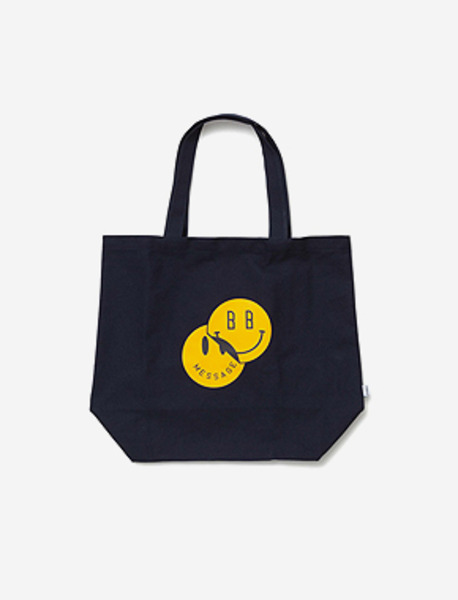SMILEY M.BAG - NAVY brownbreath