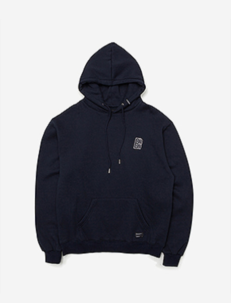 B MOVE HOODIE - NAVY brownbreath