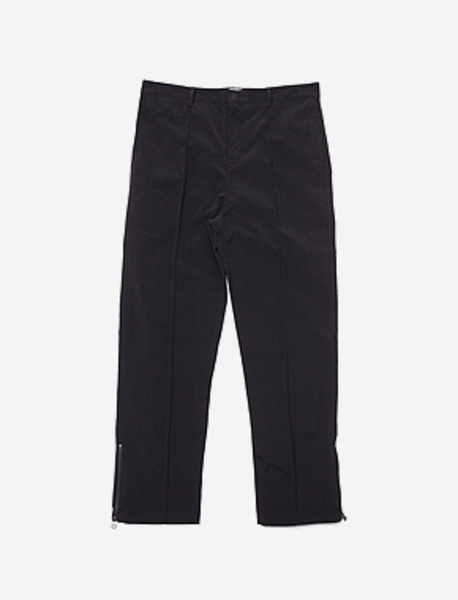 SPREAD STRIPE PANTS - BLACK brownbreath