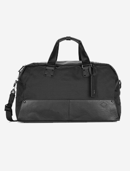 B114 Boston Bag - BLACK brownbreath