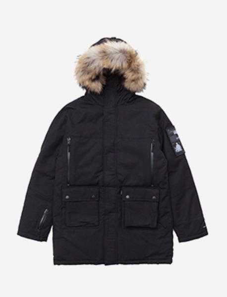 RAID HEAVY PARKA - BLACK brownbreath