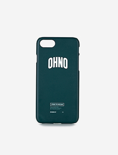 OHNO iPhone 7 case - GREEN brownbreath