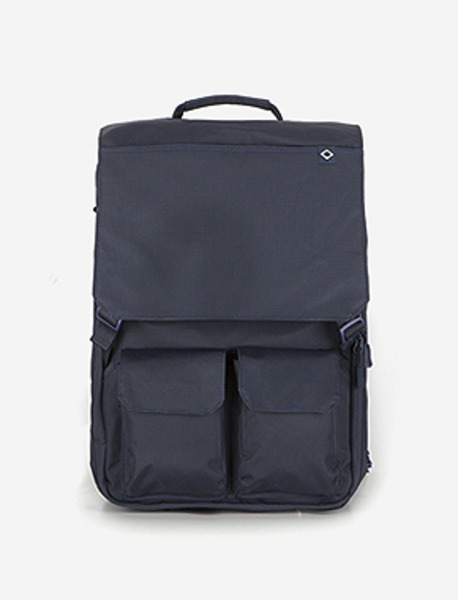C030 NOMAD TRAVEL BACKPACK - NAVY brownbreath