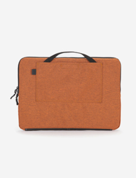 "N210 LAPTOPCASE 15"" - 2TONE ORANGE brownbreath"