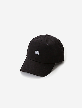 TAGGING CURVED CAP - BLACK brownbreath