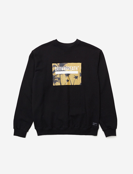 BOX CREWNECK LBC - BLACK brownbreath