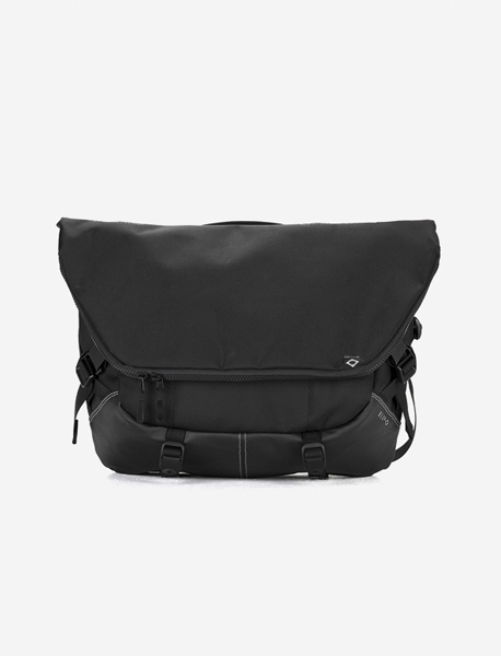 N010 MESSENGER BAG - BLACK brownbreath