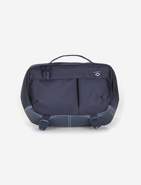N395 GRAVITY WAISTBAG - NAVY brownbreath