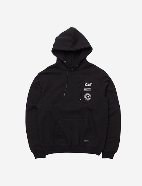 CREDIT HOODIE - BLACK brownbreath