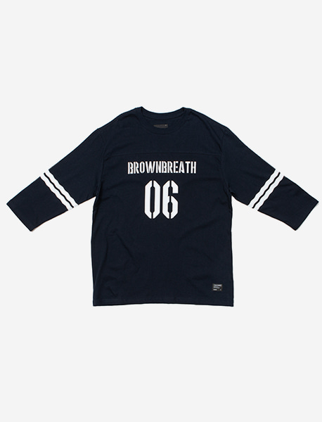 1/7 T-SHIRTS 2018 LE - NAVY brownbreath