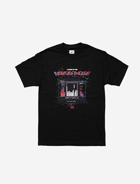 INSER TO TEE - BLACK brownbreath