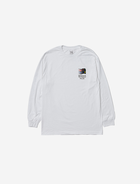 MWF LONGSLEEVE - WHITE brownbreath