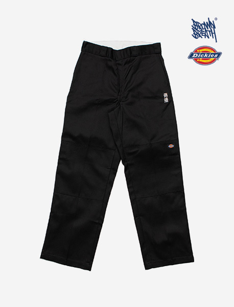BXD SPREAD WORK PANTS - BLACK brownbreath
