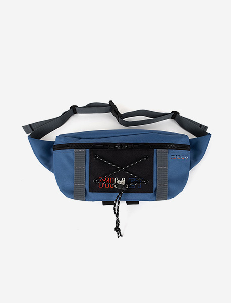 BXM REFUGE WAISTBAG - BLUE brownbreath