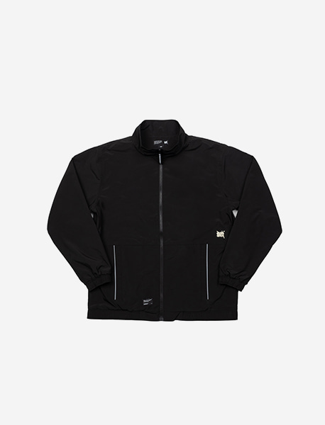 TAG TRACK JACKET - BLACK brownbreath