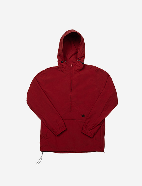 BB ANORAK JACKET - BURGUNDY brownbreath