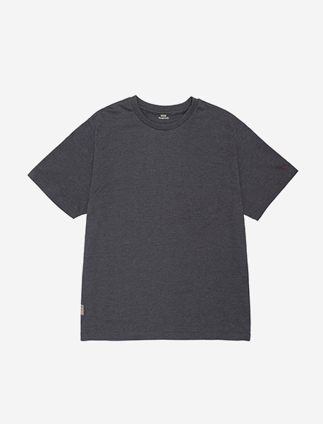 NOGREED BASIC T - CHARCOAL brownbreath