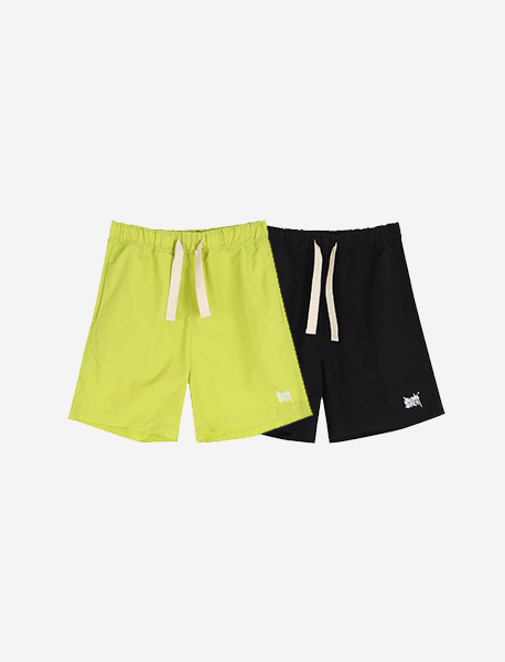 [KIDS] TAG SHORTS PANTS - 2 colors brownbreath