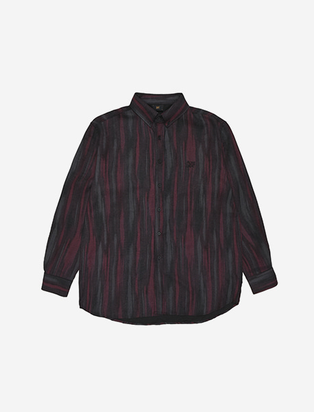 BB DEPT STRIPE SHIRTS - GREY brownbreath