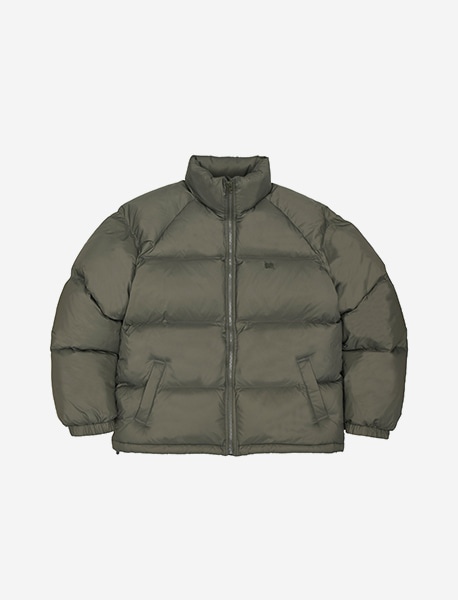 TAG SHORT DOWN PUFFER - KHAKI brownbreath