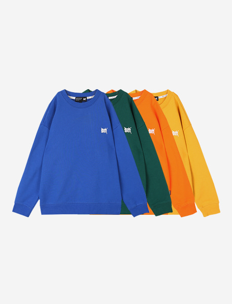[KIDS] TAG CREWNECK - 4 colors brownbreath