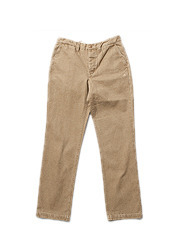 13 CHINO PANTS MG - D.BEIGE brownbreath