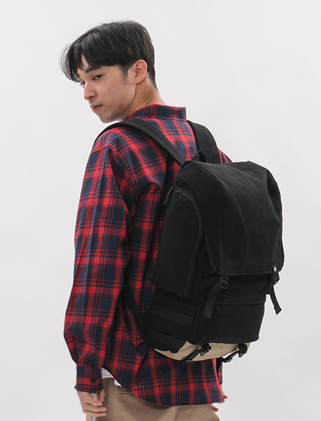 (예약발송) RESISTANCE BACKPACK - BLACK brownbreath