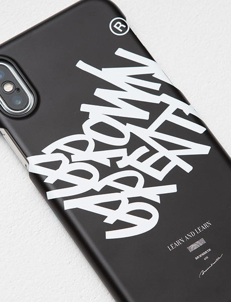 TAG L&L PHONECASE - BLACK brownbreath