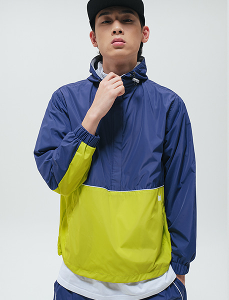 TAG ANORAK - NAVY brownbreath
