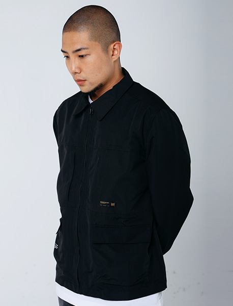 DEFS UTILITY SHIRTS - BLACK brownbreath